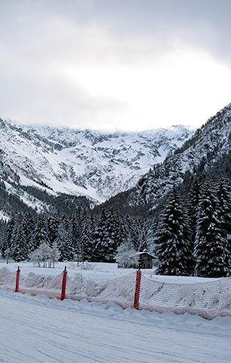 Pista da sci in Vallecamonica